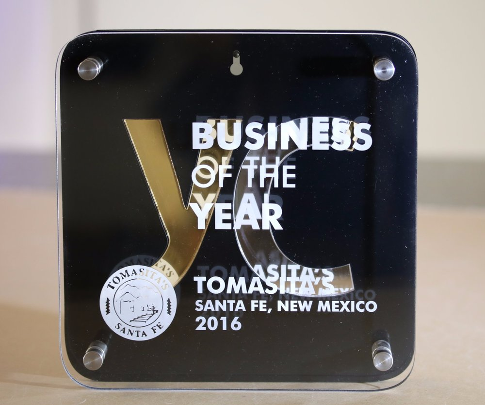 YellCast - Business of the Year Plaque  Contact us for pricing information.