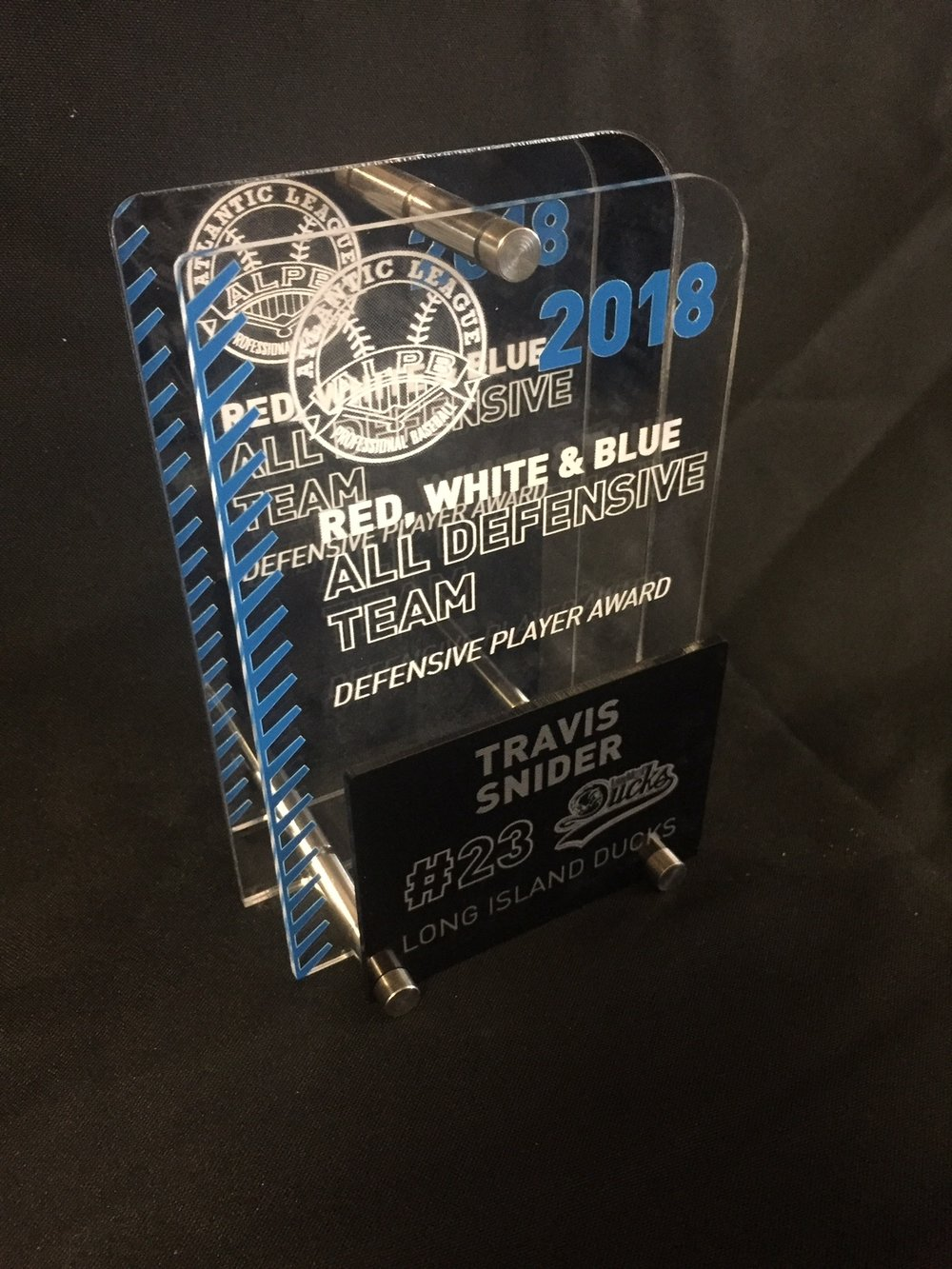 ALPB - Red, White, & Blue Division All-Star Award  Contact us for pricing information.
