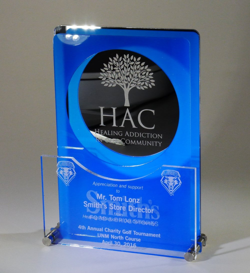 Non-profit Corporation - Appreciation and Support Award  Contact us for pricing information.