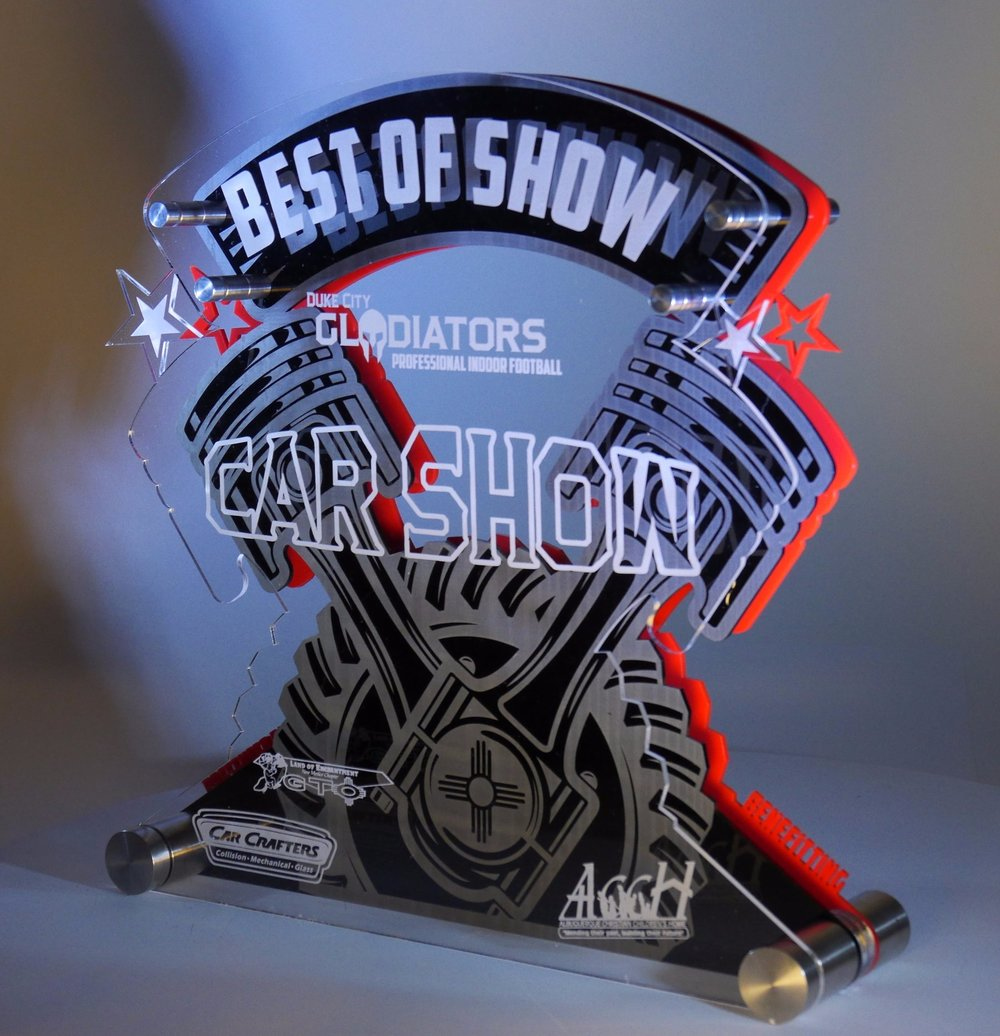 Car Show - Best of Show Award  Contact us for pricing information.