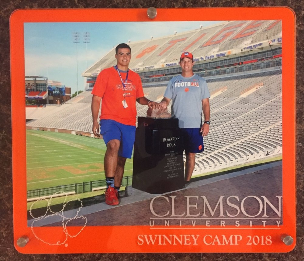 Team Camp Frame, 8x10 Landscape orientation - branded for your event in your colors with your logos.  Contact us for design and pricing information.