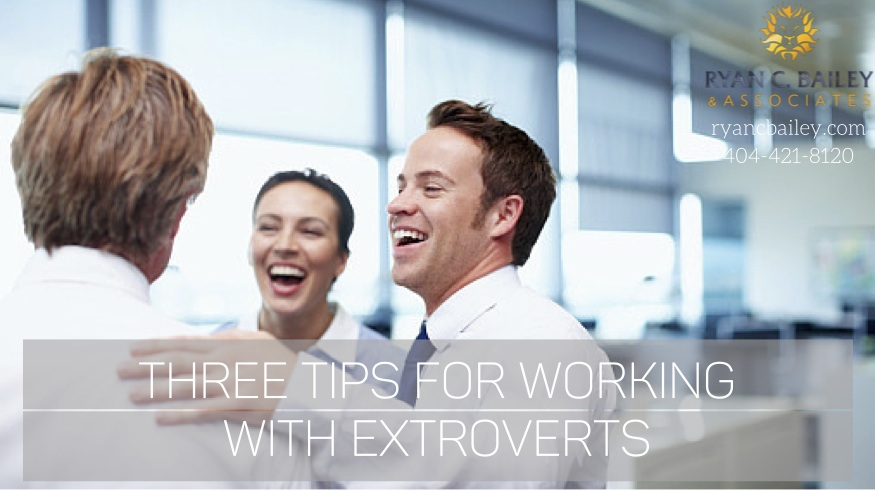 three tips for working with extroverts