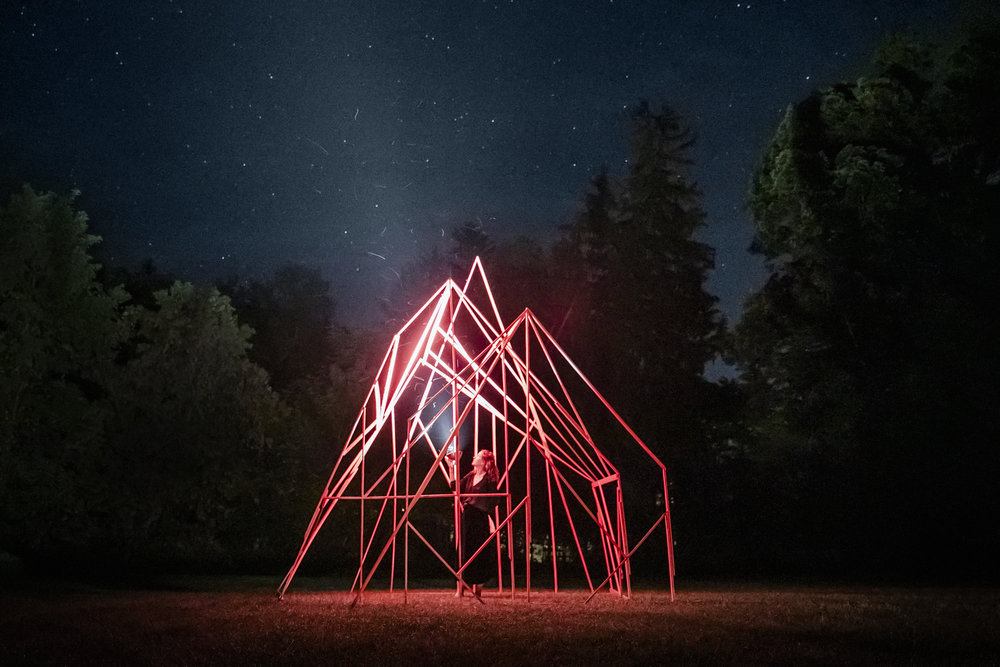 The Architecture of a Witch's Hut_interactive installation_2017_Wassaic, upstate New York_photo Subodh Samudre_2.jpg