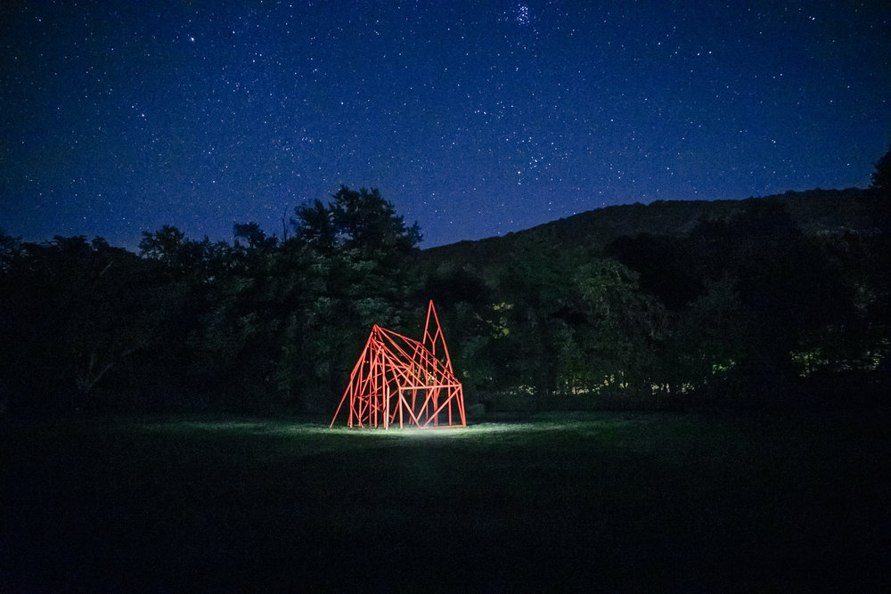 The Architecture of a Witch's Hut_interactive installation_2017_Wassaic, upstate New York_photo Subodh Samudre_1.jpg