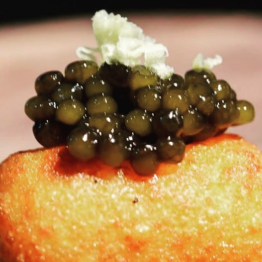 This weekend we roll out our new mondo tater tot with an ample does of caviar and creme fraiche #feedyousoonbham