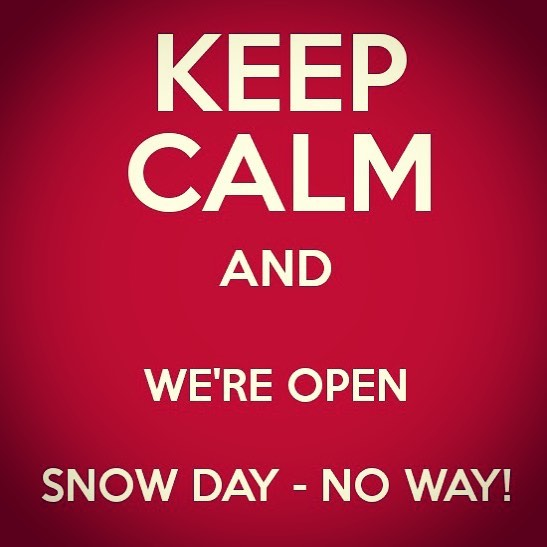 We are open tonight come visit, enjoy a cocktail and fill your belly #feedyousoonbham #nosnownoshow #bhameats #bhamsnowday #birminghamalabama #bestnewrestaurants