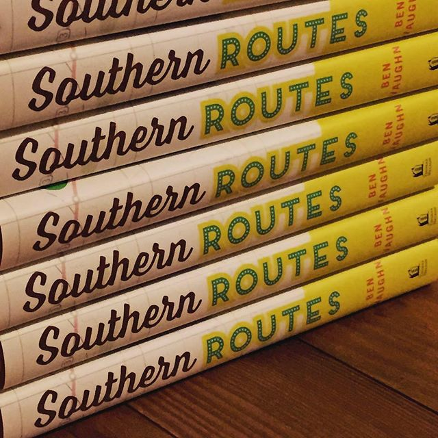 Wanna grab a copy of @therealbenvaughn signed cookbook #southernroutes swing by for dinner @roottotail for a copy of your own #feedyousoonbham #smallbusinessowner #benvaughn #happyhour #roottotailcooking