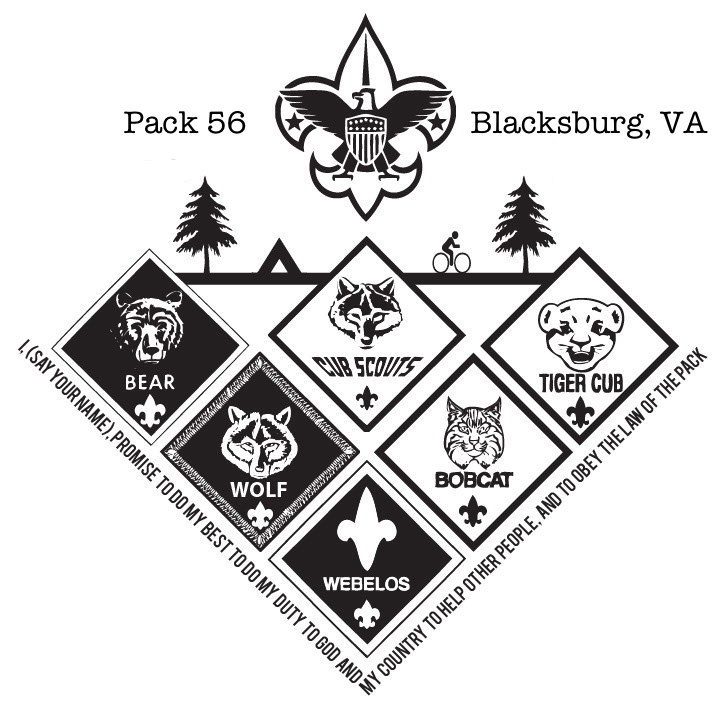 About - Pack 56 Meets Tuesday Nights at Northside Presbyterian Church.