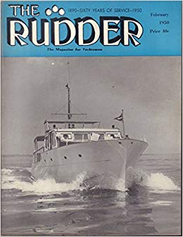 A 1950 issue of The Rudder