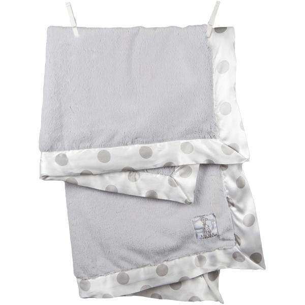 Little Giraffe - grey blanket Lux