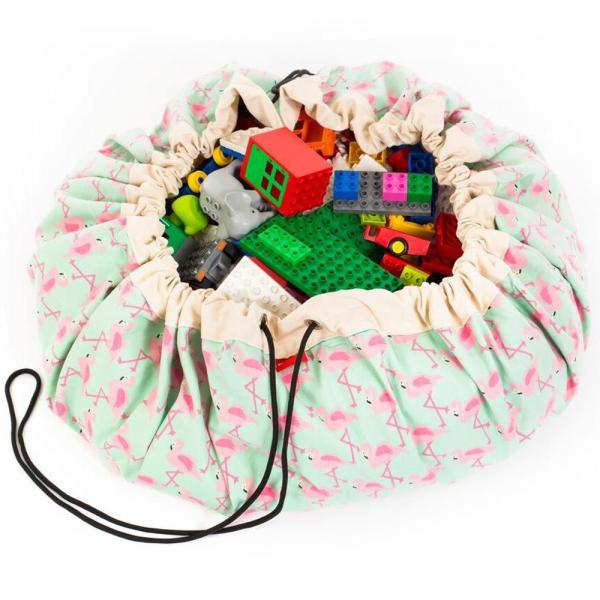 Play&Go playmat - flamingo