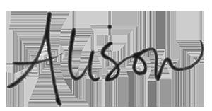 Alison Saviour Signature