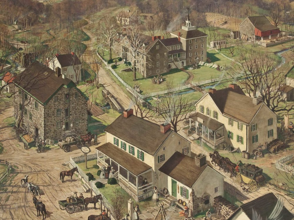 """A Birds Eye View"" - John Pierce (1900-1970)"