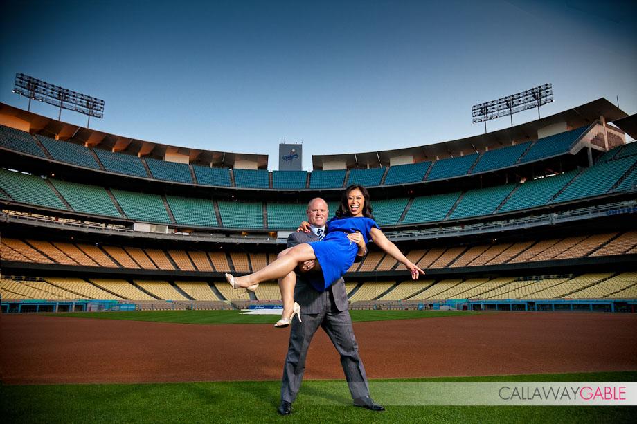 Dodger-Stadium-Engagement-Photo-2120