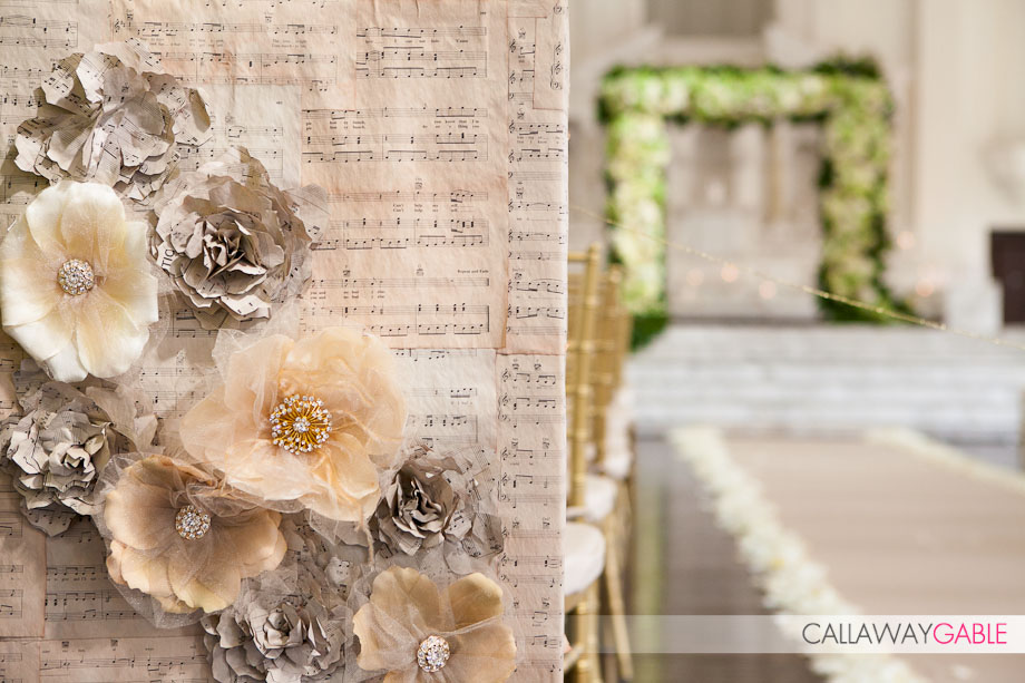 Music Inspired Wedding at Vibiana in Los Angeles