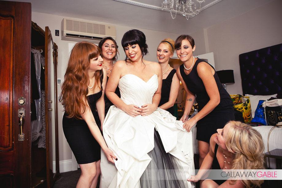 Super Stylish SmogShoppe Wedding by Callaway Gable