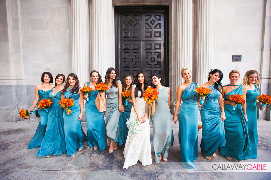 Vibiana Wedding Photo