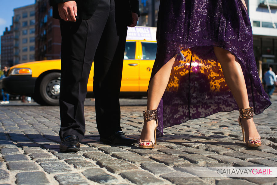 Chelsea Engagement Photos in New York City by Callaway Gable
