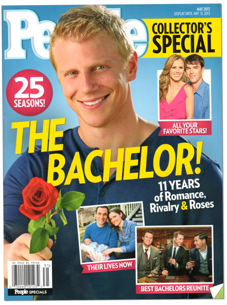 The Bachelor and People Magazine