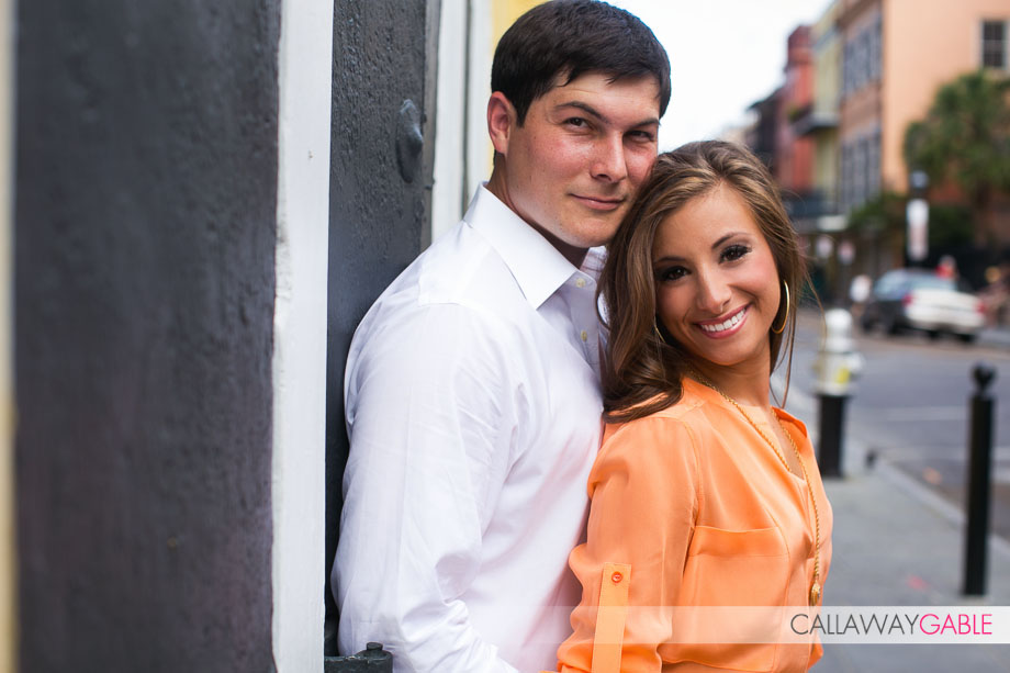 New Orleans French Quarter Engagement Photo