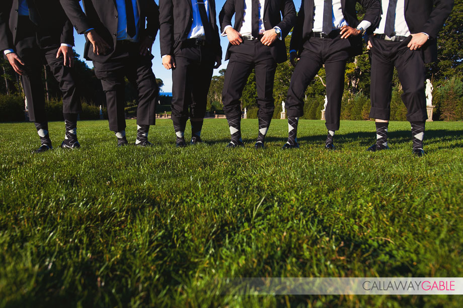 Crane Estate and Castle Hill Wedding Bridal Party