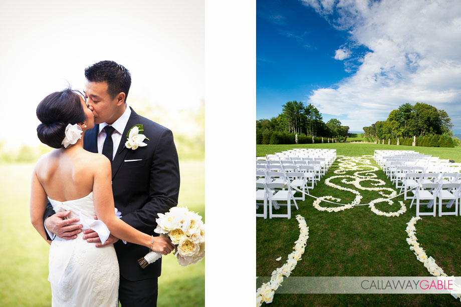 Crane Estate and Castle Hill Wedding in Boston Massachusetts by Callaway Gable
