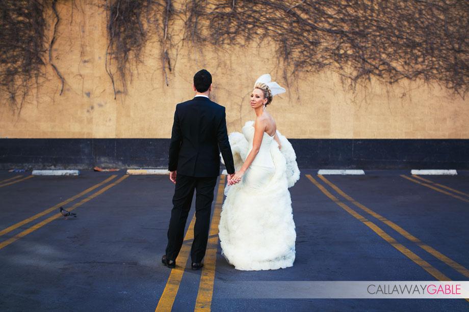 Downtown Los Angeles Wedding Portraits