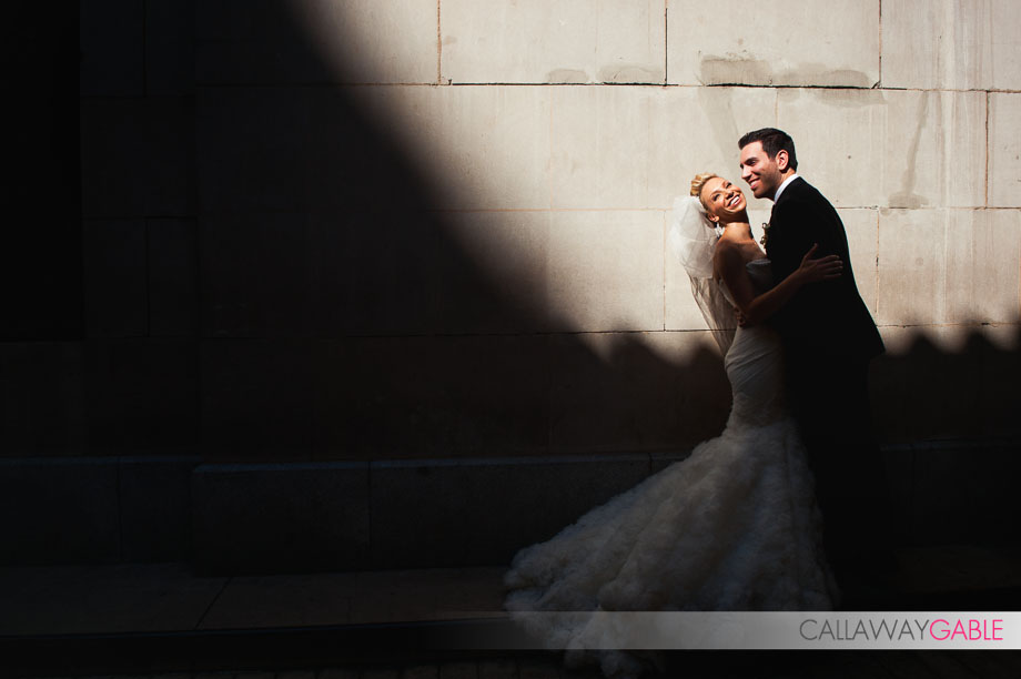 Bride Portraits at the Millenium Biltmore Hotel in Los Angeles