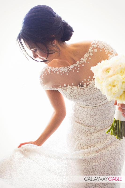 Bride portrait for her wedding at the Ritz Carlton Laguna Niguel