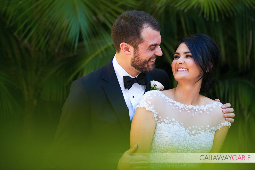 Wedding photo at the Ritz Carlton Laguna Niguel