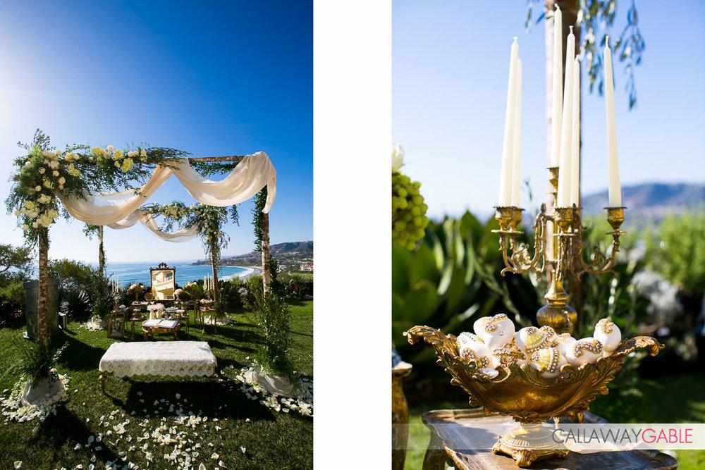 Wedding details at Ritz Carlton Laguna Niguel