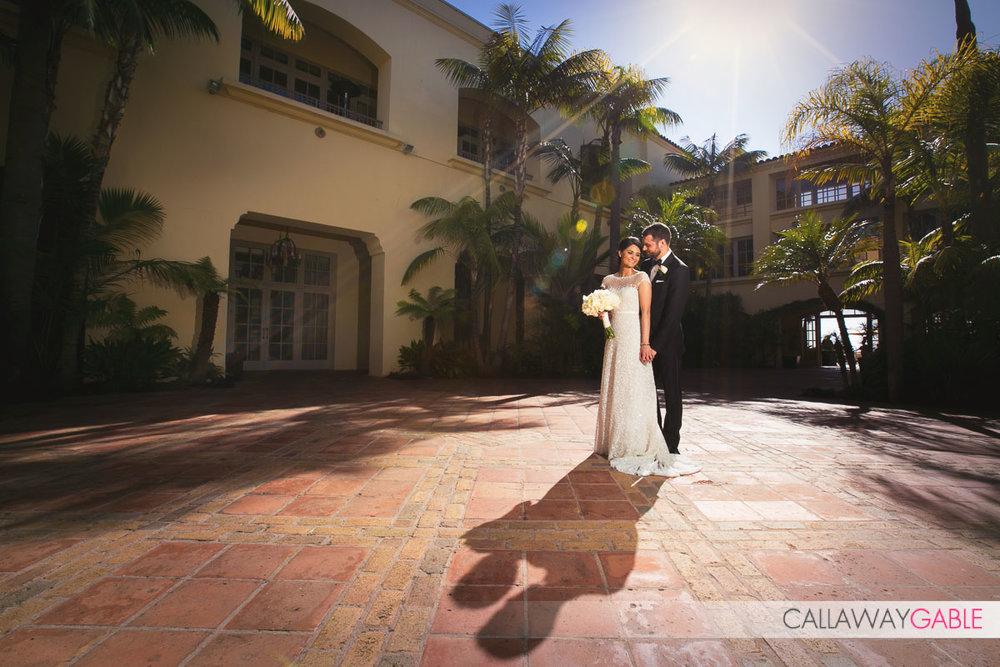 Ritz Carlton Laguna Niguel wedding photo