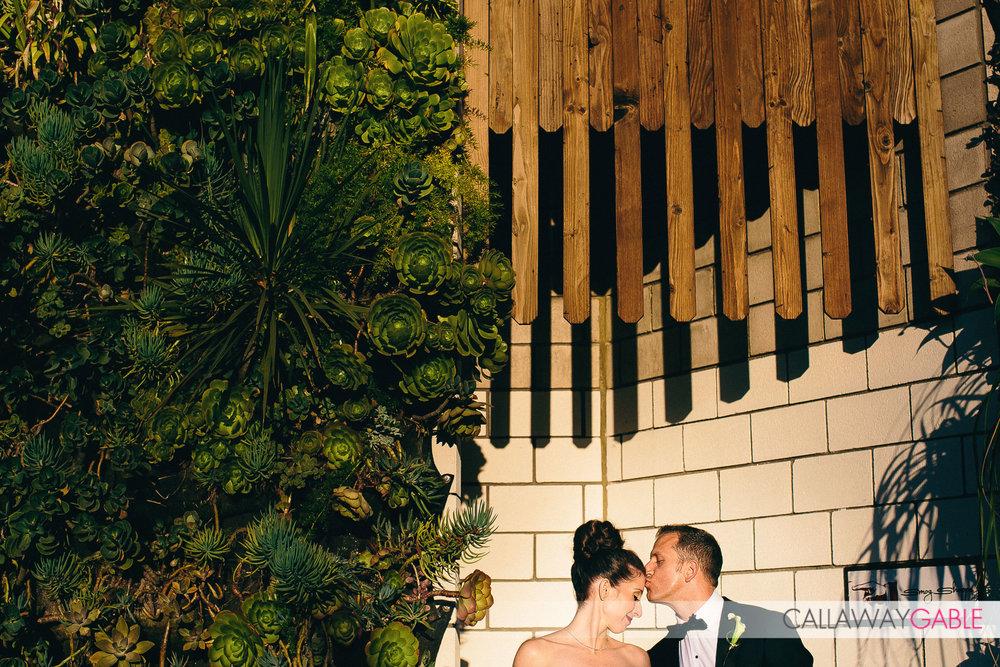 Wedding at Smog Shoppe in Culver City