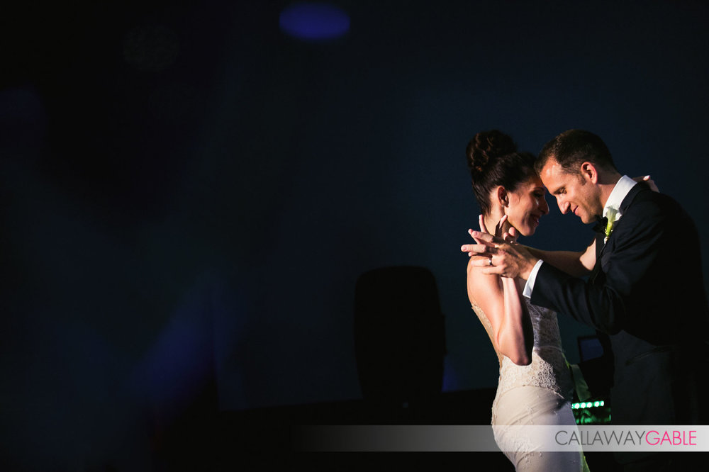 First Dance at Smog Shoppe Wedding