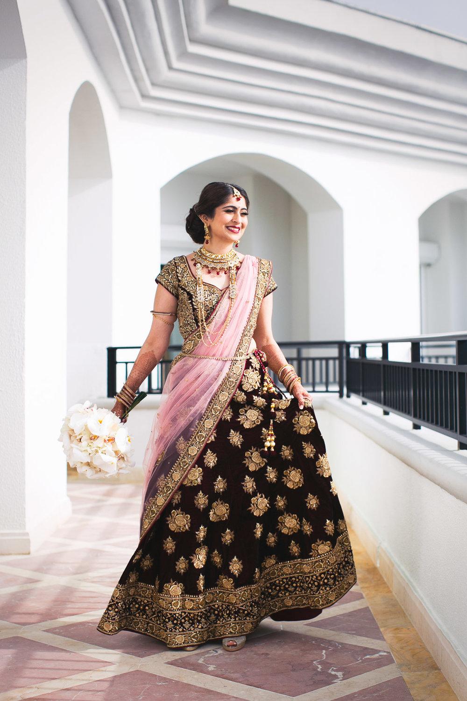 South Asian JW Marriott Cancun Wedding