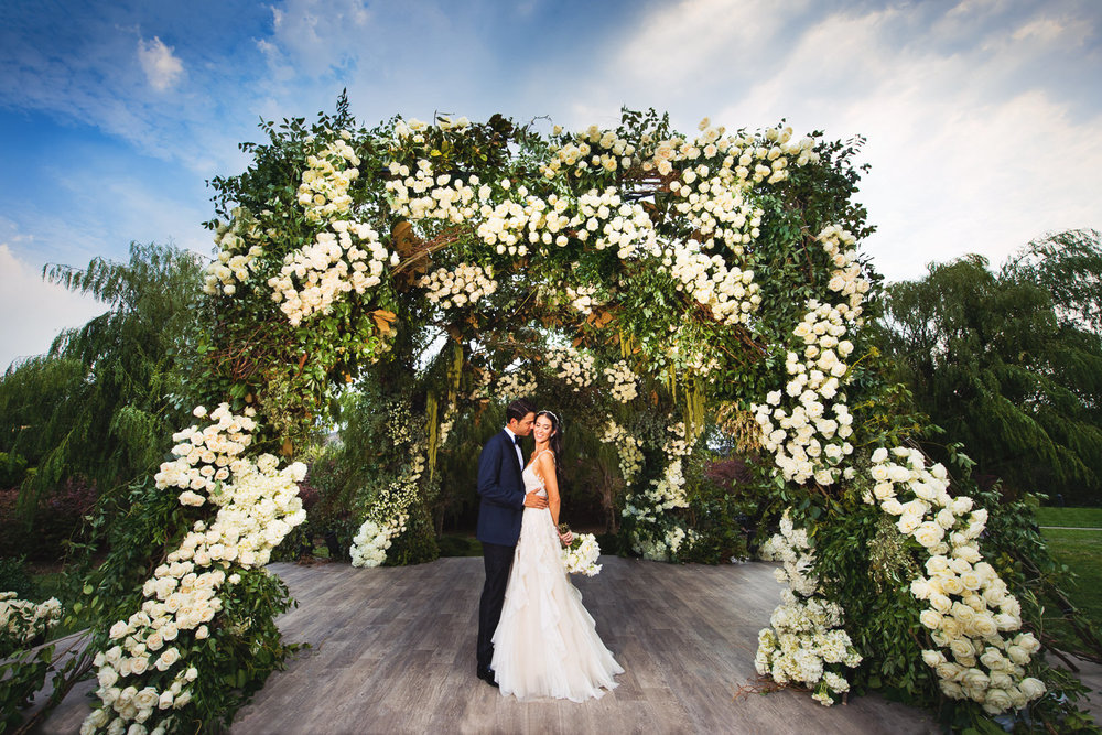 Luxury Wedding Mark's Garden at Four Seasons Westlake Village