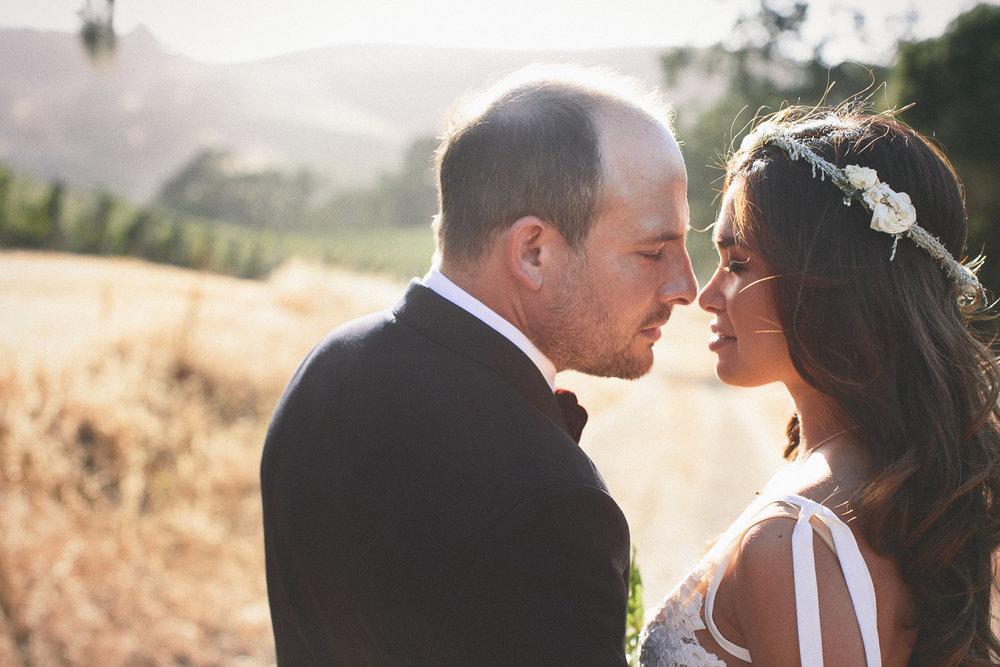Los Olivos Wine Country Wedding at Refugio Ranch