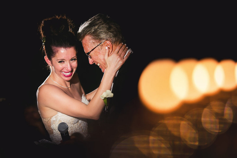 Emotional SmogShoppe wedding moment in Culver City