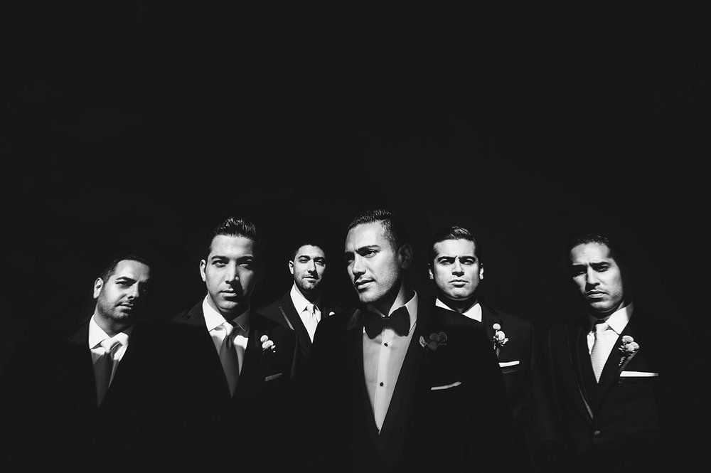 Best groomsmen wedding photo at Monarch Beach Resort