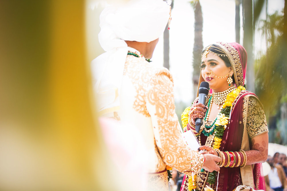 Langham Pasadena Wedding Indian Wedding Ceremony