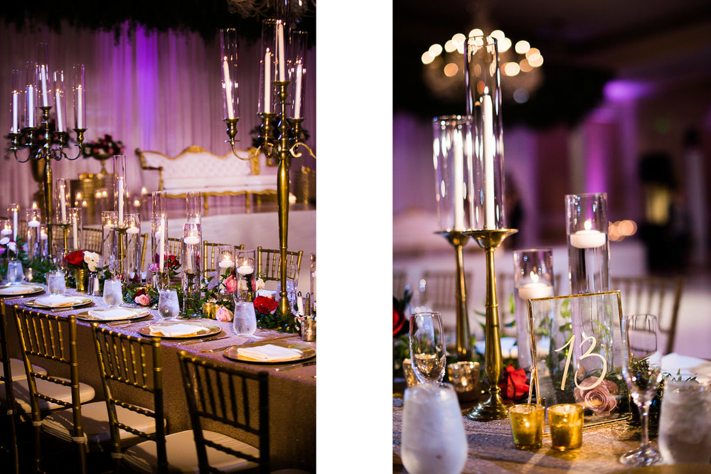Langham Pasadena Wedding Wedding Reception