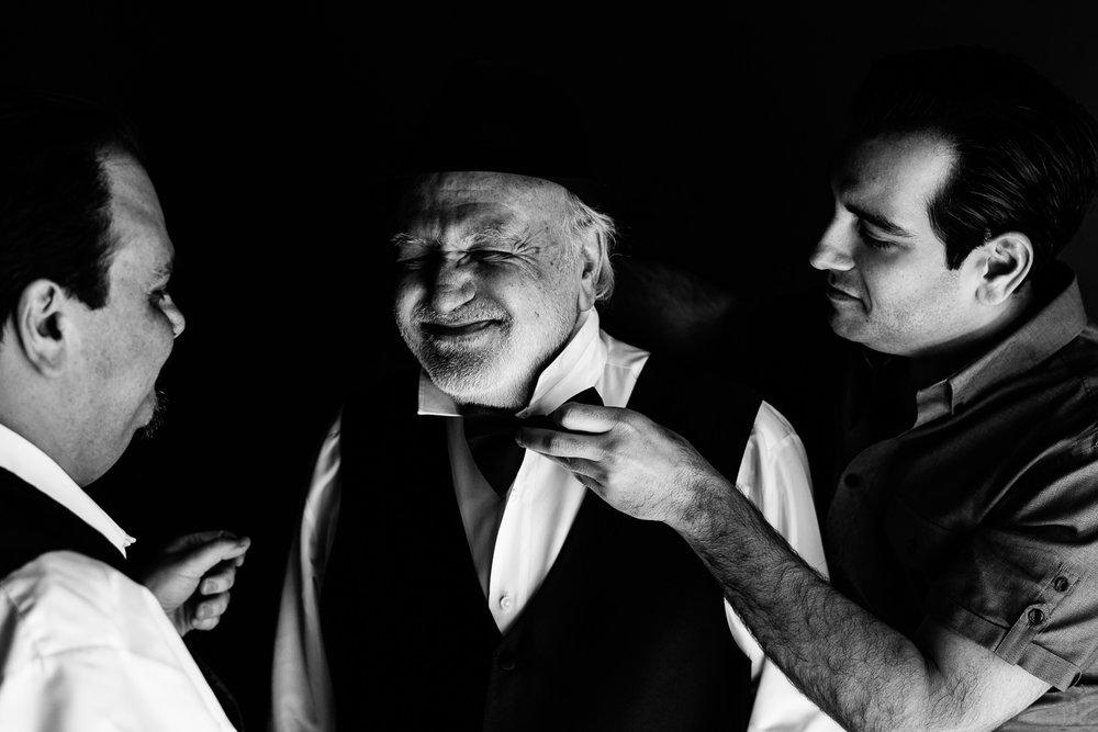Vibiana Wedding Photographs of Groom