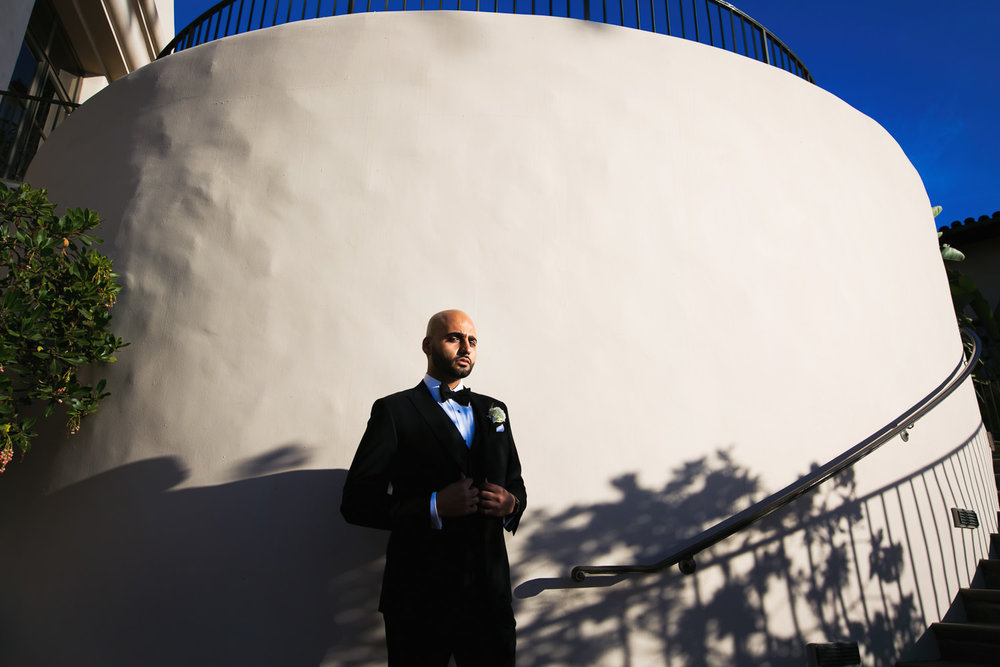 Pelican Hill Photographer - Wedding Groom