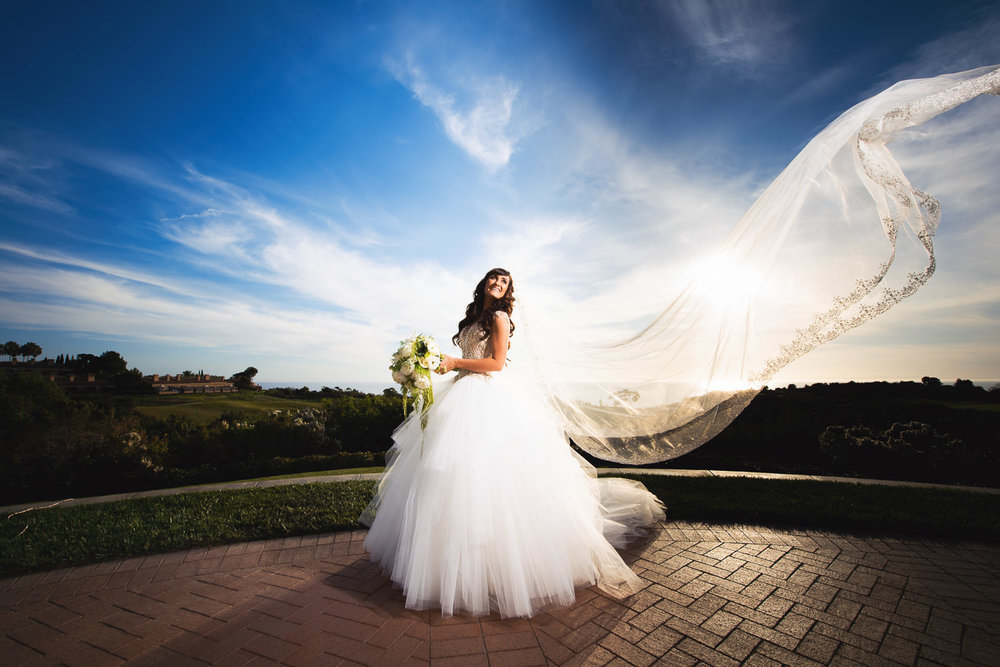 Pelican Hill Photographer - Wedding Bride Portraits