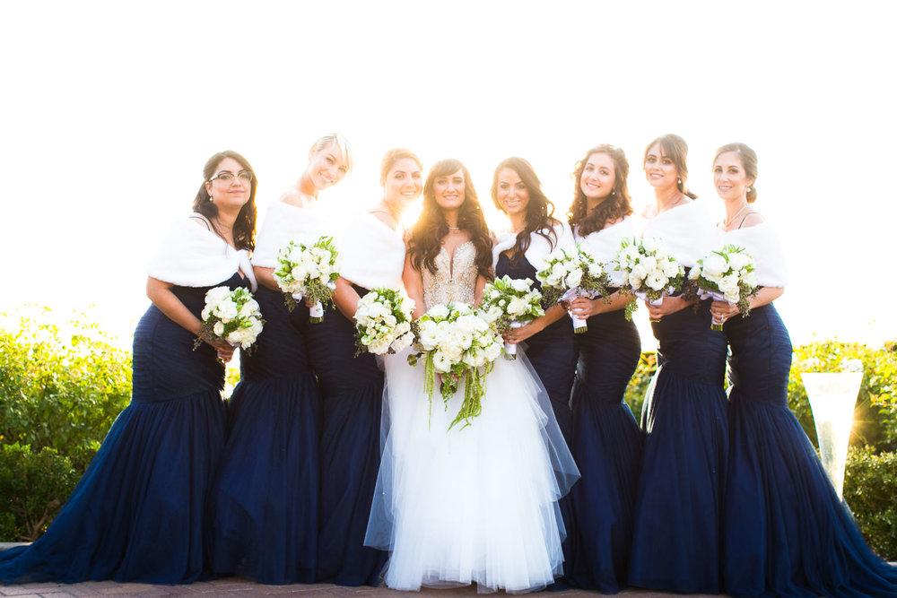 Pelican Hill Photographer - Wedding Bridal Party