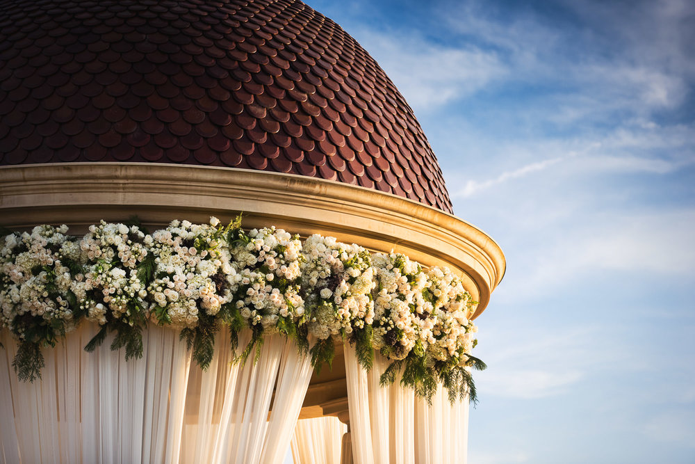 Pelican Hill Photographer - Wedding Florals and Decor by Square Root Designs