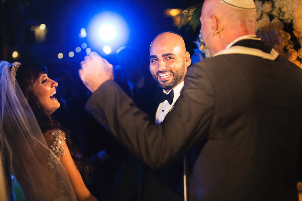 Pelican Hill Photographer - Persian Jewish Wedding Ceremony