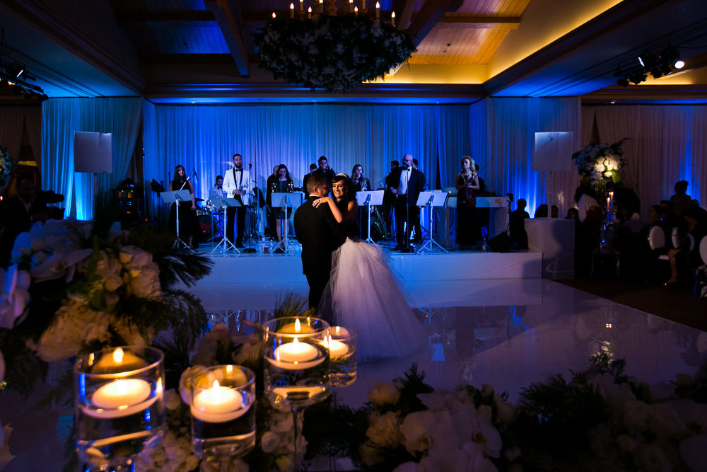 Pelican Hill Photographer - Persian Jewish Wedding Reception