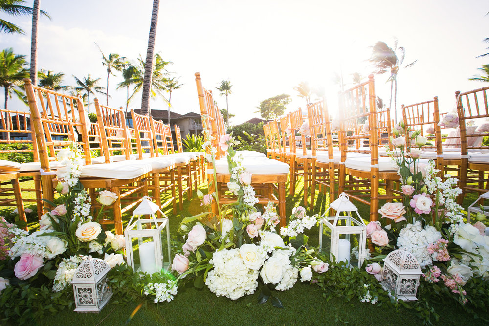 Another photo of Outdoor Wedding Ceremony at the Four Seasons Hualalai