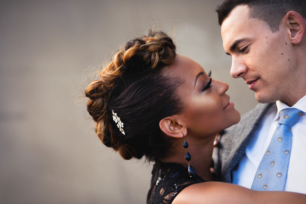 African-American Engagement Photo